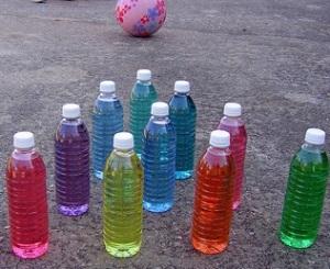 bowling bottles